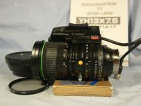'     1.4 CANON YH13X7.5 Professional Cine Lens ' Canon 7.5-97.5MM 1.4 Broadcast Quality TV Zoom Lens + Inst + Hood -MINT-NICE- £99.99